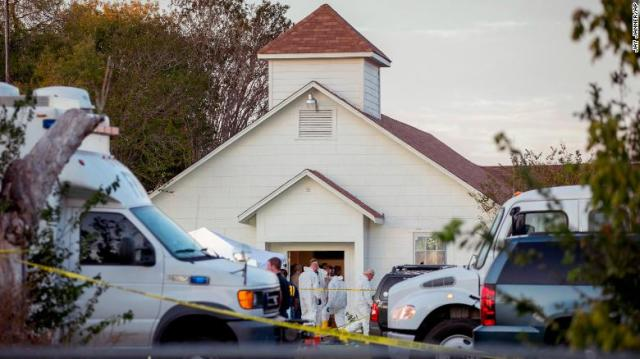 At least 8 victims of the Texas church shooting were members of one family