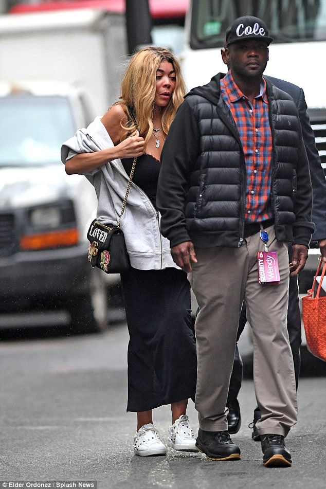 Popular daytime host Wendy Williams steps out makeup free in New Yotk