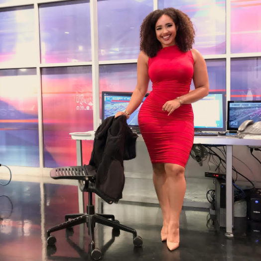 Extremely curvy news anchor gets attacked for dressing provocatively and she claps back in viral video (photos/video)
