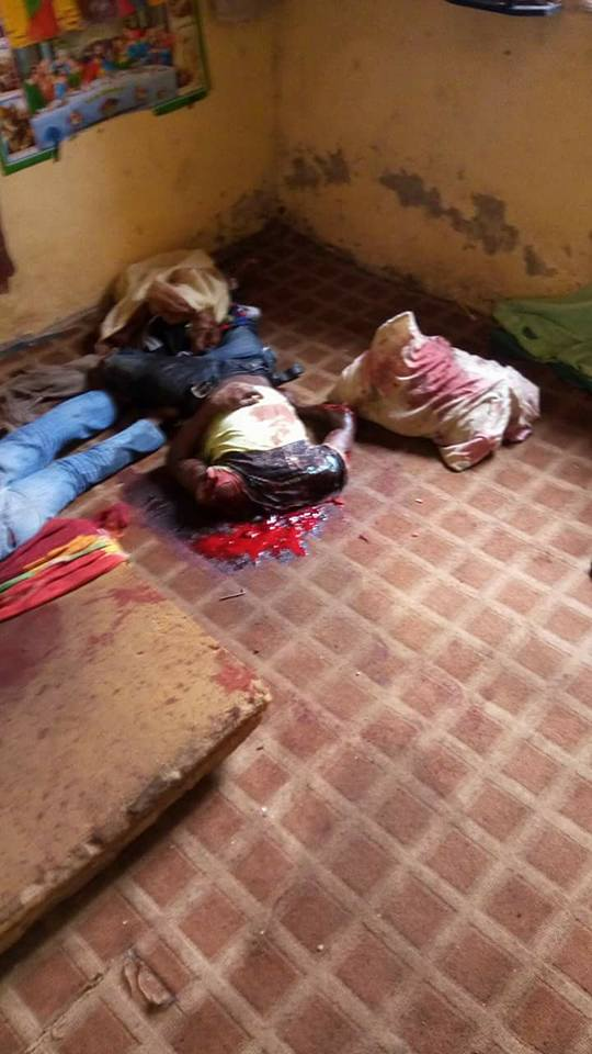Graphic photos: Rival cult group behead three men in Imo