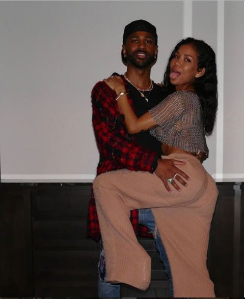 Jhene Aiko shares lovely photos of her man Big Sean grabbing her?ass