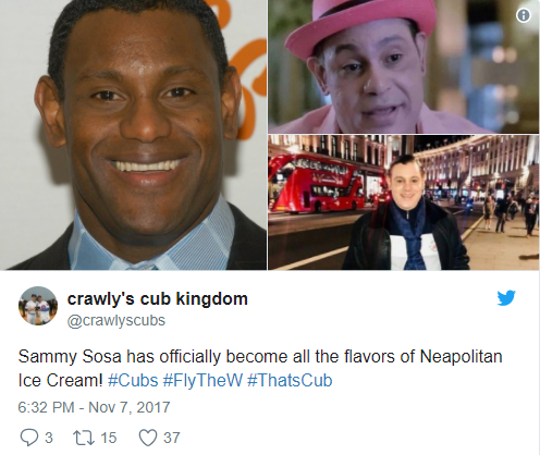 WTH? Sammy Sosa has turned completely white after bleaching his skin and Twitter is freaking out because of it