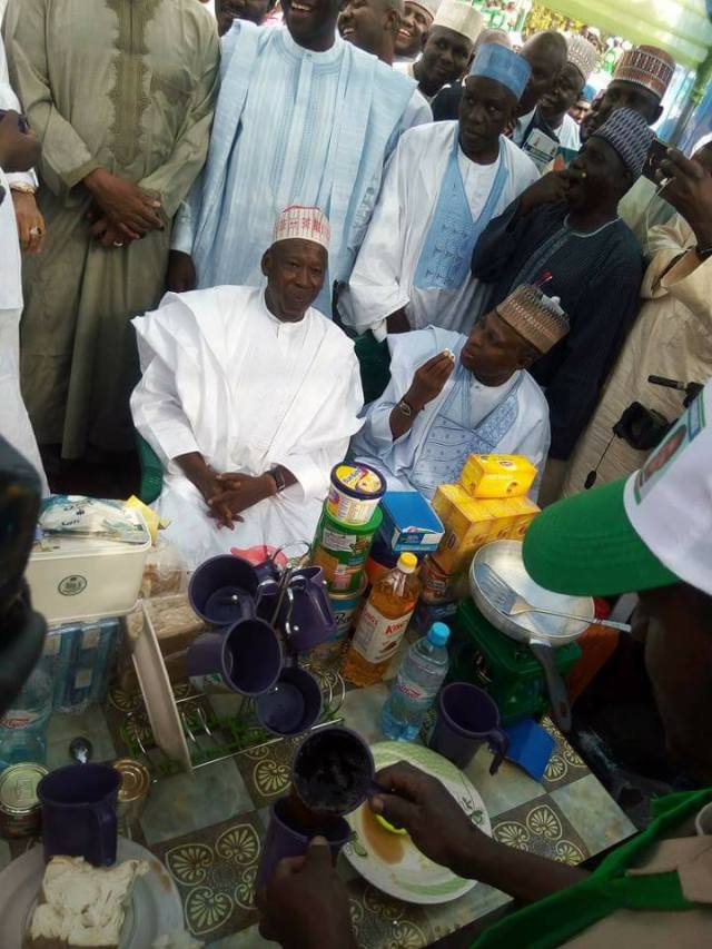 More photos from the Kano state empowerment programme for tea sellers that gulped N208 million