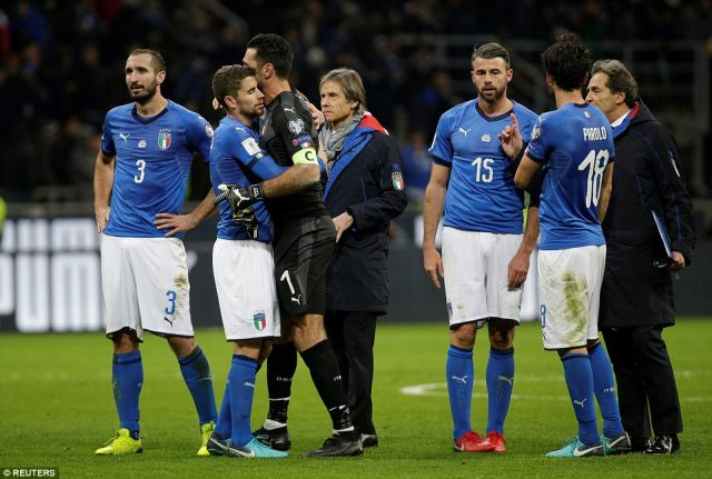 5a0a27dc77b57 - 2018 FIFA World Cup; Italy Fail To Qualify For First World Cup In 60 Years