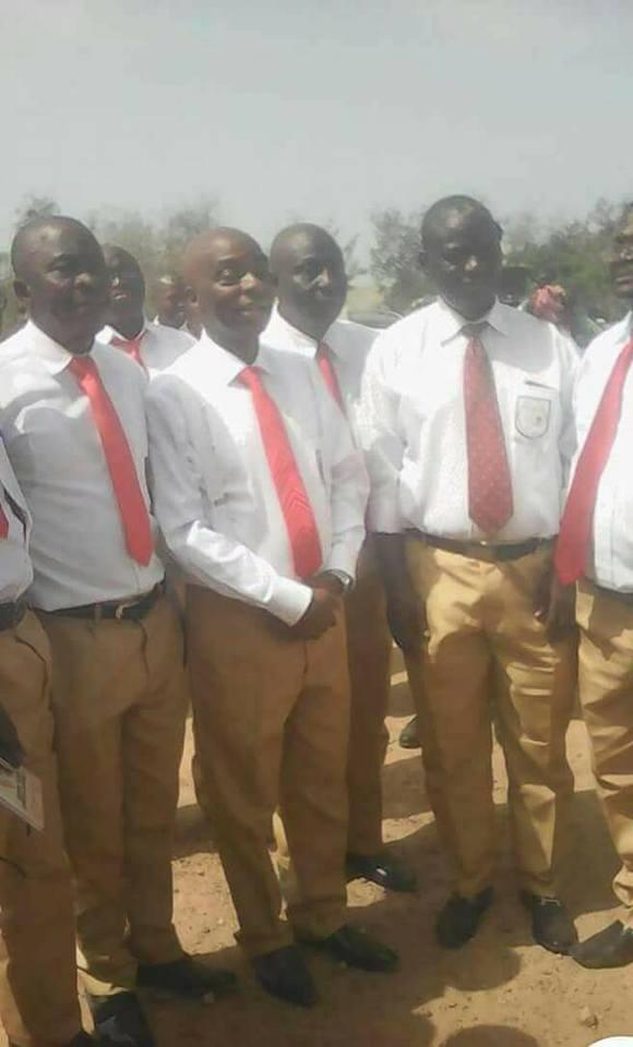 Photos of billionaire clergyman, David Oyedepo, wearing his secondary school uniform