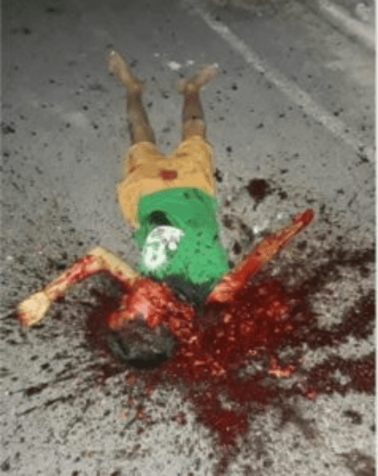 13yr old gang leader and his crew murdered for making threats towards an older gang (graphic video and photo)