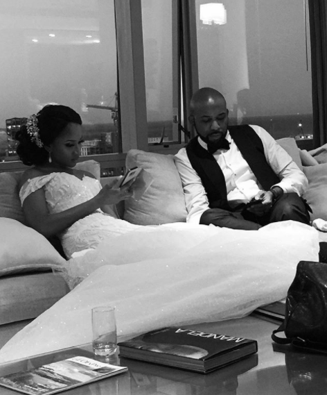 More beautiful photos from the Banky W and Adesua