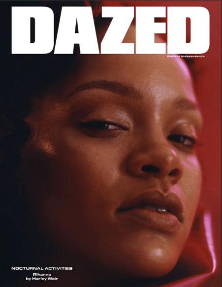 """Rihanna perfectly pulls off the """"Shirley Temple with dreads"""" look in new magazine covers"""