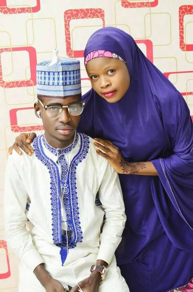 Viral pre-wedding photos of young Hausa couple