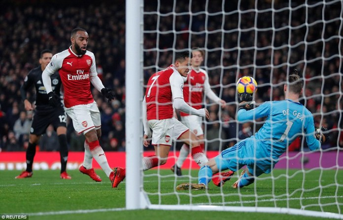 What a keeper! De Gea and Lingard take all the honours as Arsenal lose to Man U 1-3 despite Pogba red card.