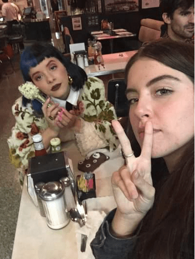 Beautiful female singer, Melanie Martinez is accused of raping one of her female fans