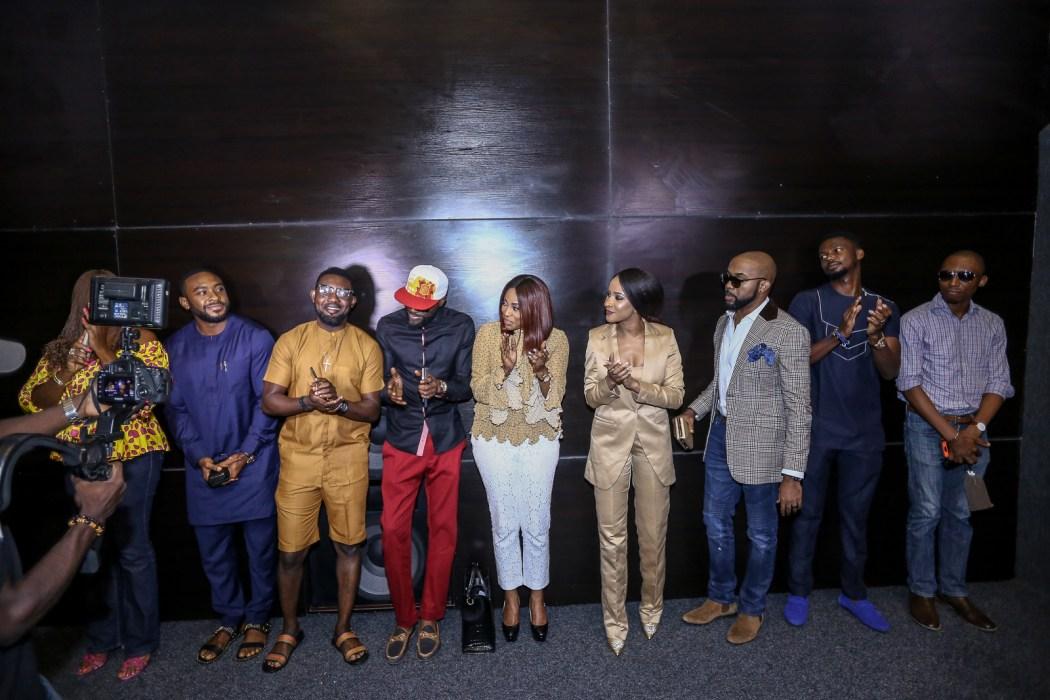 Photos: Mo Abudu, Banky W, Adesua, Eyinna, Ikechukwu, Frank Donga, AY, Ireti Doyle, EmmaOhMyGod attend the exclusive partner screening of