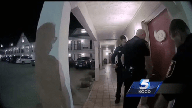 Police release video of homophobic Oklahoma senator caught with underage boy in motel room