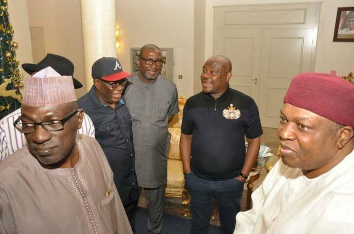 Photos from Rivers state governor, Nyesom Wike