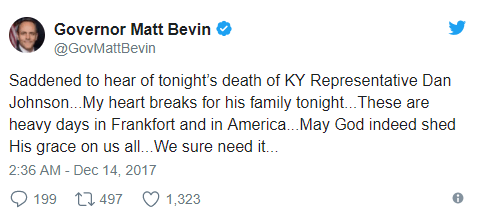 Kentucky lawmaker who compared Barack and Michelle Obama to monkeys kills himself after sexual assault allegations...left suicide note on FB