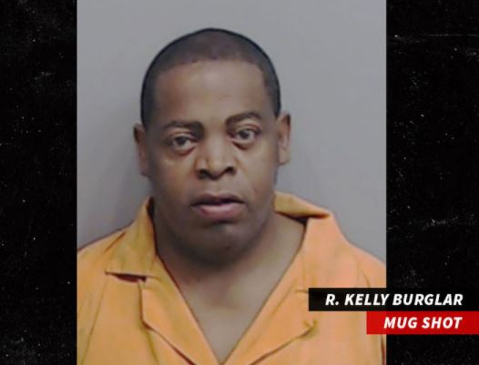 Suspect in R. Kelly burglary case turns himself to police (Photos)