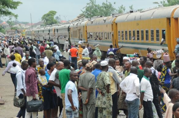 Image result for Christmas: 3,000 enjoy Aregbesola's free train service