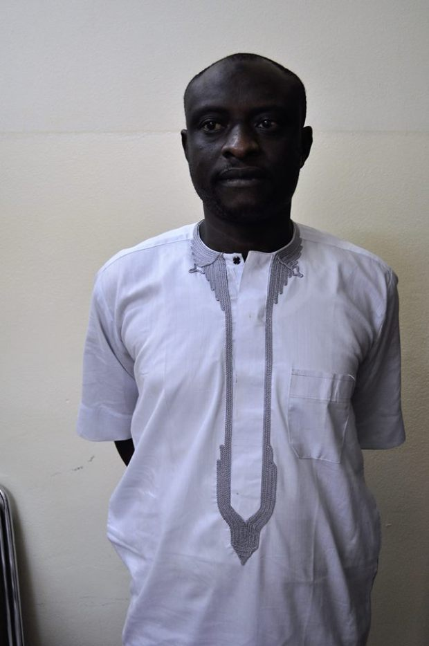 Photos: EFCC arrests fake investigator over attempt to defraud Governor Al-Makura
