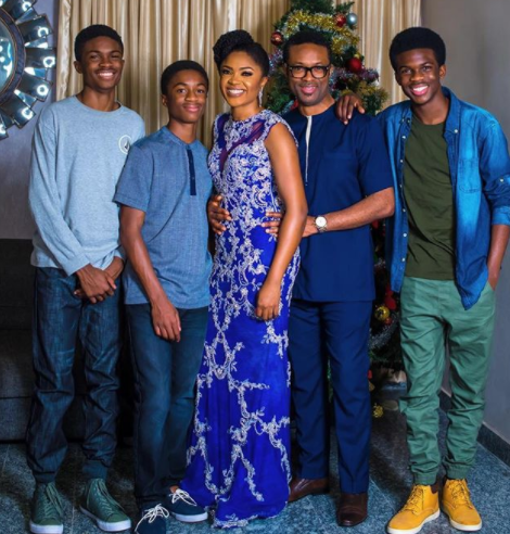 These family photos of actresses Omoni Oboli and Ufuoma McDermott are beautiful!