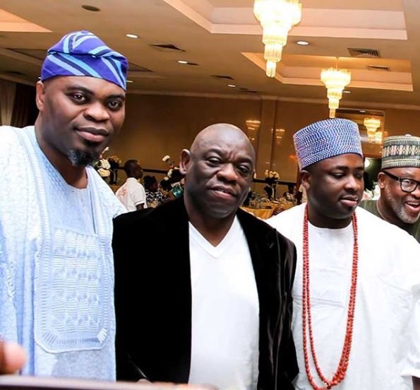 Photos from the 50th birthday celebration of Dele Momodu
