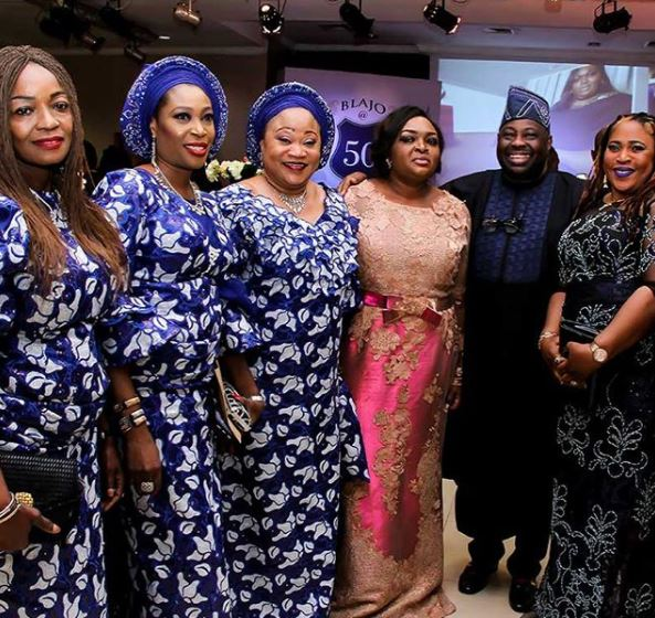 Photos From The 50th Birthday Celebration Of Dele Momodu's