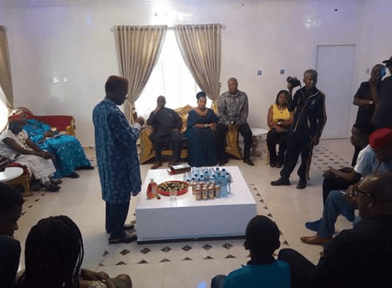 Photos from the opening of veteran actor, Kanayo O. Kanayo