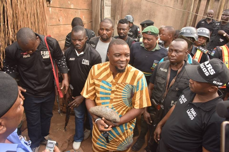 Image result for EXPOSED: Pictures of arrested suspected Badoo Chief Herbalist