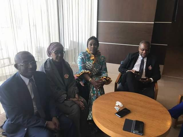 Evacuation of Nigerians: Dabiri-Erewa, Minister of Foreign Affairs, Onyeama, NAPTIP DG, Okah-Donli depart for Libya on facts finding mission