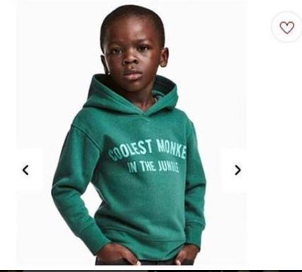 Update: H&M apologizes for modeling black child In ?Coolest Monkey In The Jungle? hoodie