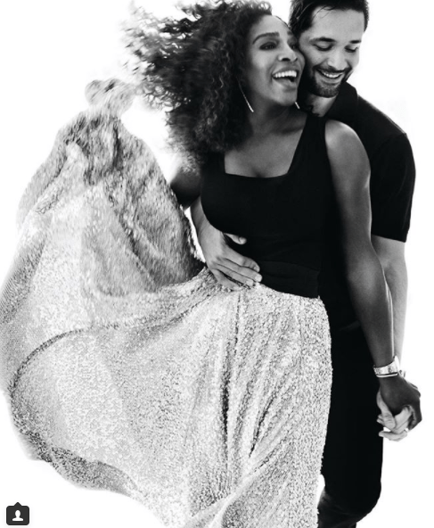 5a586a0539126 - Serena Williams' husband reveals which of her and Alexis Jr's Vogue photos will go on his work desk