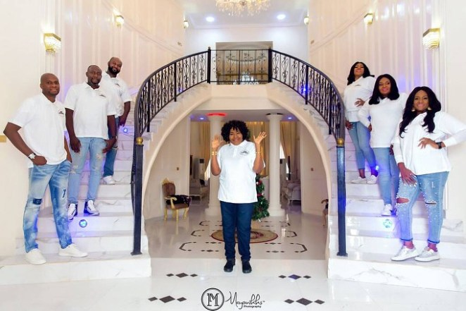 5a589b240406f - Billionaire businessman Chima Anyaso & siblings celebrate mother with lovely photos