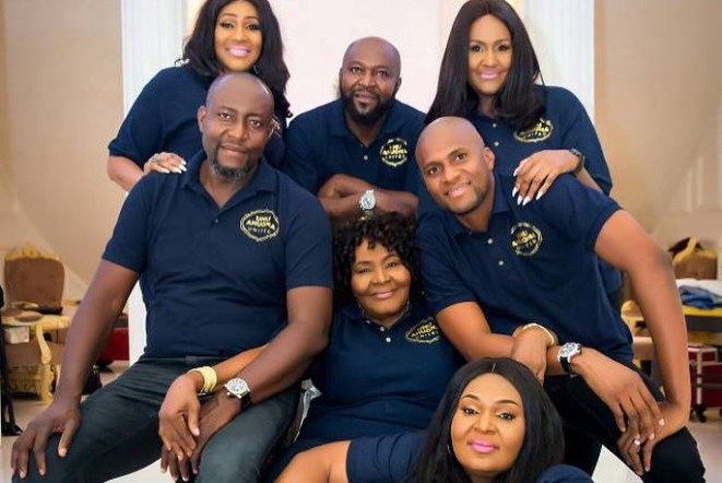 5a589c14a1956 - Billionaire businessman Chima Anyaso & siblings celebrate mother with lovely photos