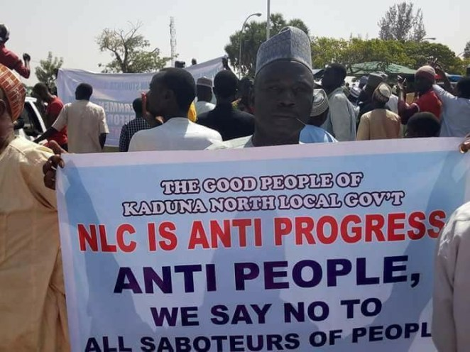 5a598f9c9a6cd - Photos: Kaduna parents march in support of the state government's sack of 21k incompetent teachers