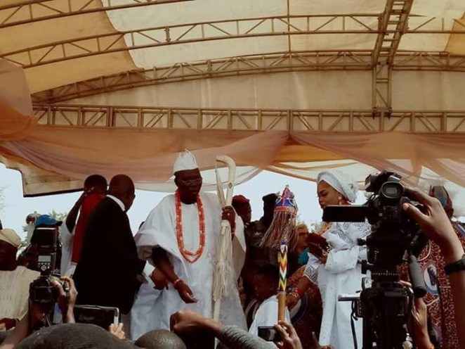 5a5a4a4aa3745 - Photos from Installation ceremony of Gani Adams as the 15th Aare Ona Kakanfo of Yorubaland
