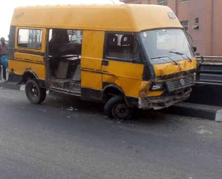 5a5ac9e6c8206 - Hawker falls off the bridge after he is hit by a commercial bus in Lagos (photos)
