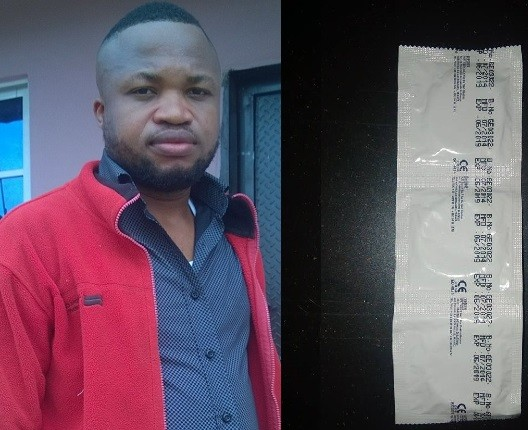 Nigerian man who got condoms after attending a birthday party celebrates (Photos)