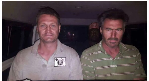 Photo: Police rescue two South Africans kidnapped in Kaduna