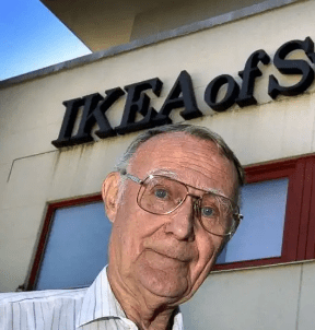 The founder of IKEA has died (he was known as the world