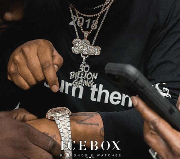 Davido shows off his new $200k 2018 Bentley Bentayga and luxury Icebox wristwatch worth millions of Naira!