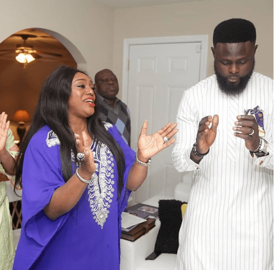 Photos from the naming ceremony of Yomi Casual