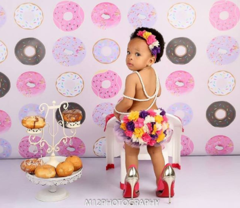 5a82a8088b5b3 - Adaeze Yobo celebrates her daughter's first birthday, shares how she almost terminated the pregnancy after two doctors said it was fibroid
