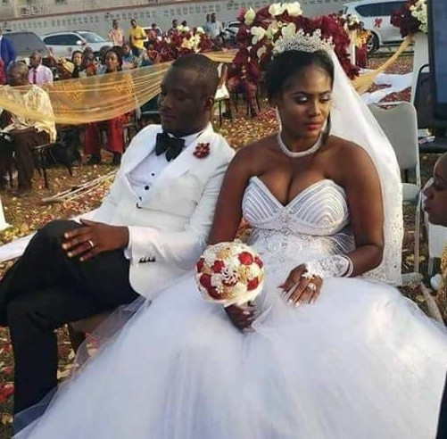 5a835d21b4467 - Photos: Chai! President Weah's new Director of Operations gets married to his wife's best friend in Liberia...without divorcing her in the U.S!