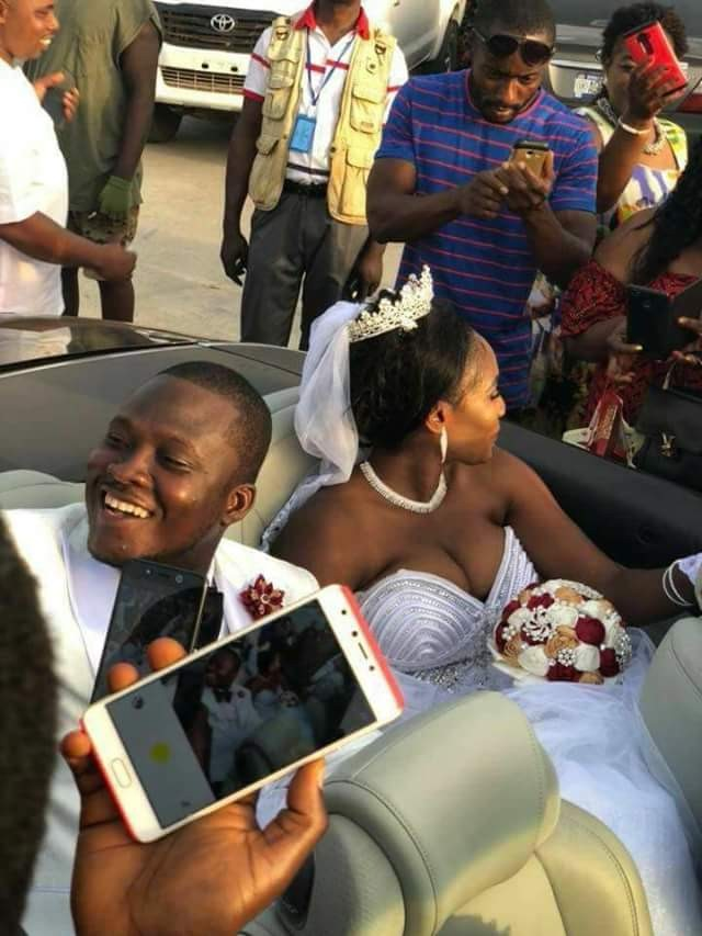 5a835dc548a8a - Photos: Chai! President Weah's new Director of Operations gets married to his wife's best friend in Liberia...without divorcing her in the U.S!