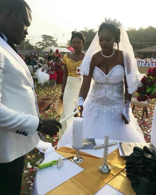 5a835f7e65ec2 - Photos: Chai! President Weah's new Director of Operations gets married to his wife's best friend in Liberia...without divorcing her in the U.S!