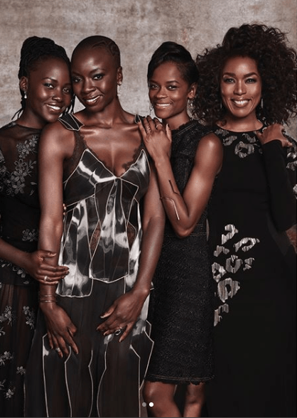 """5a83f8b32466e - """"Black Panther"""" cast cover Essence Magazine's March 2018 issue (photos)"""