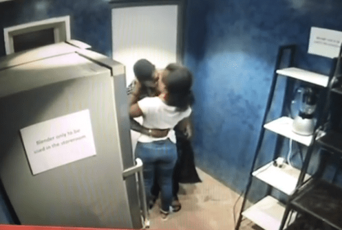 Awwww! Finally, Big Brother housemates CeeC and?Tobi kiss passionately?and its the sweetest video you