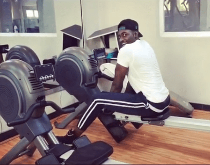 5a847800707d8 - Video: Gbenro Ajibade's 'Valentine' workout should make his wife very afraid... Lol