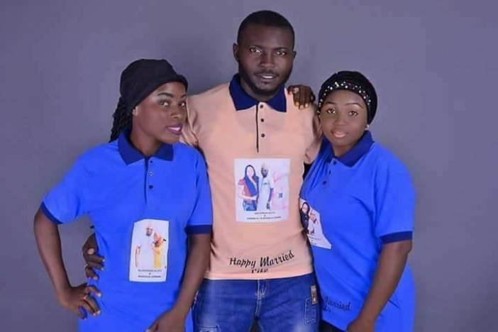 Checkout the pre-wedding photos of a Kogi-based man and the two women he intends to wed same day