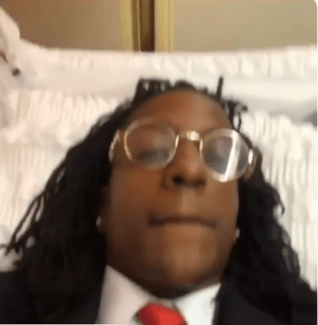 American rapper,?Rico Recklezz shoots new music video from Inside a coffin