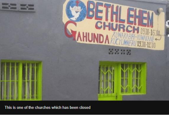 Rwanda shuts down